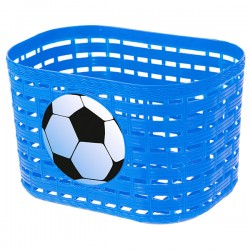Kids Plastic Basket blue