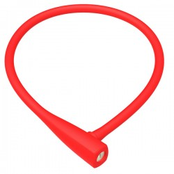GES SILICON CABLE LOCK Red 75 cm
