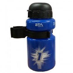 BTA Kids Plastic 330ML Blue Water Bottle