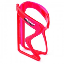 GEPIDA Plastic Basic Water Bottle Cage Red