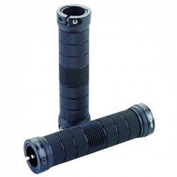 GES RIM LOCK SYSTEM 130mm Black Grips