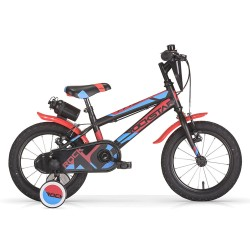 "MBM ROCKSTAR Kids 12"" RED Bicycle"