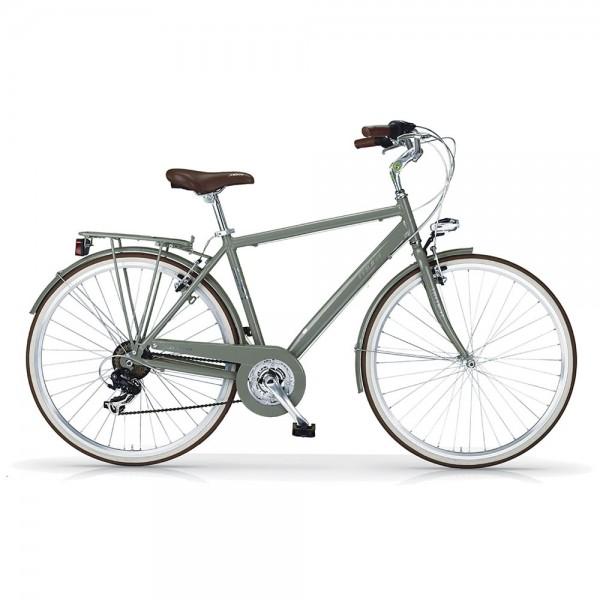 "MBM BOULEVARD MEN 28"" GREEN MILITARY Bicycle"