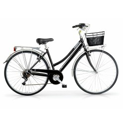 """MBM CENTRAL LADY 28"""" BLACK Bicycle"""
