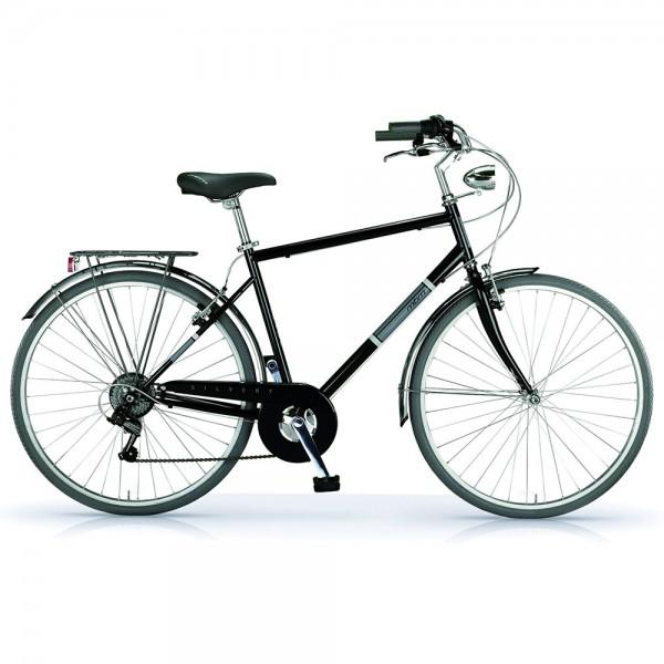 """MBM SILVERY MEN 28"""" BLACK Bicycle"""