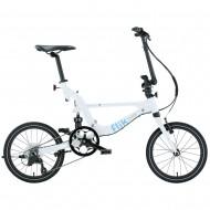 FLIK ΕΖV9 WHITE  Folding Bicycle