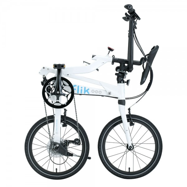 FLIK ΕΖV9 WHITE  Folding Bicycle