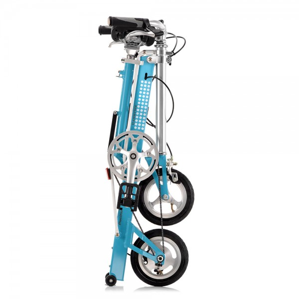 Bicycle Folded Pacific Cycles Carry Me Blue