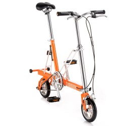 Bicycle Folded Pacific Cycles Carry Me Orange