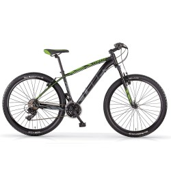 "MBM MTB LOOP DISC Men 29"" Black Green Bicycle"
