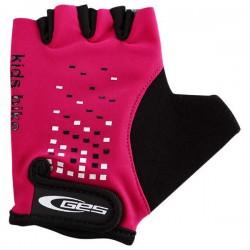 GES KIDS BIKE Half Finger Gloves Pink