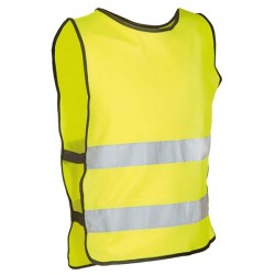 Adult M-L Yellow Safety Vest