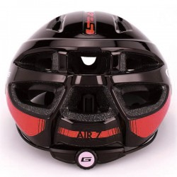GES AIR-7 UNISEX  Black Red Helmet