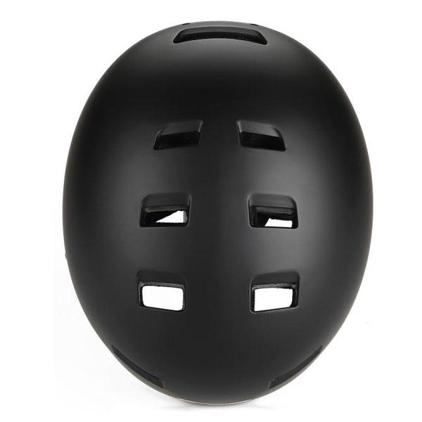 GES  BMX EXPLORER BLACK ΜΑΤTE Helmet