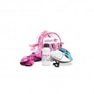 NFUN CUBIC ΚΙΤ Kids Pink Helmet