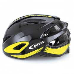 GES AIR-7 UNISEX  Black Yellow Helmet