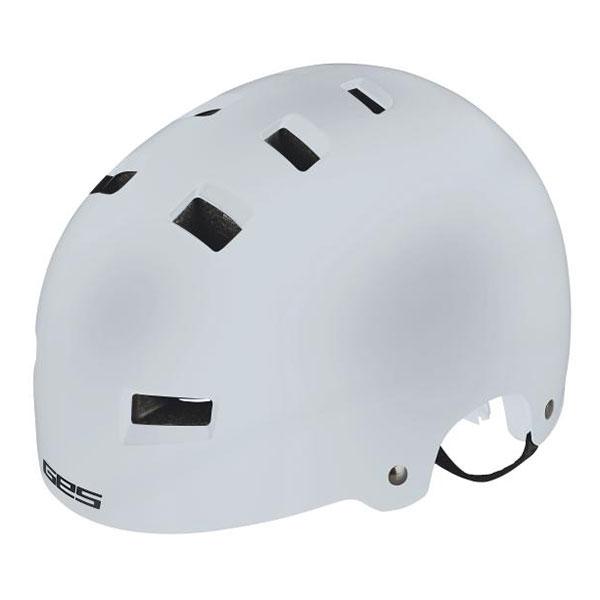 GES  BMX EXPLORER WHITE ΜΑΤTE Helmet
