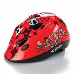 GES  DOKKY FOOTBALL KIDS RED HELMET