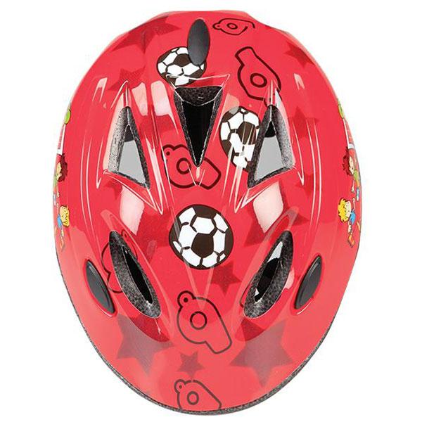 GES  DOKKY FOOTBALL KIDS RED HELMET