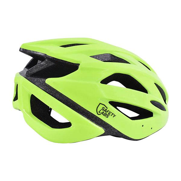 SAFETY LABS PISTE YELLOW SHINY  Helmet